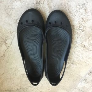 Crocs Maryjane Kadee No Slip Work Ballet Flats